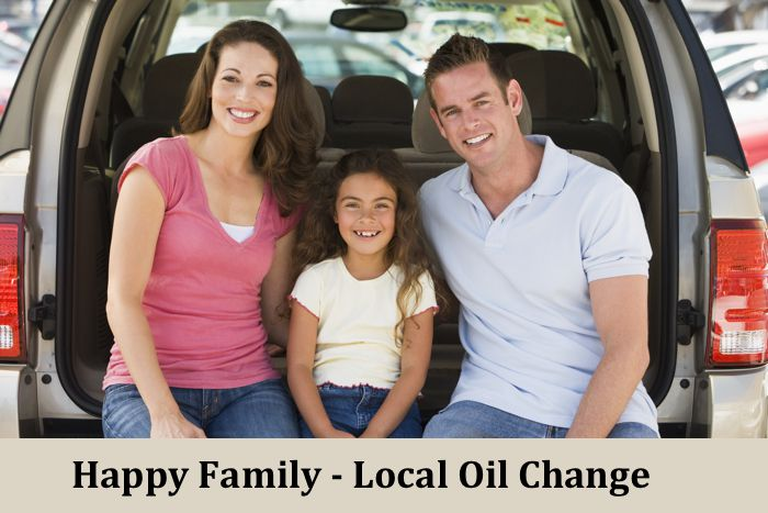 Happy Family Local Oil Change