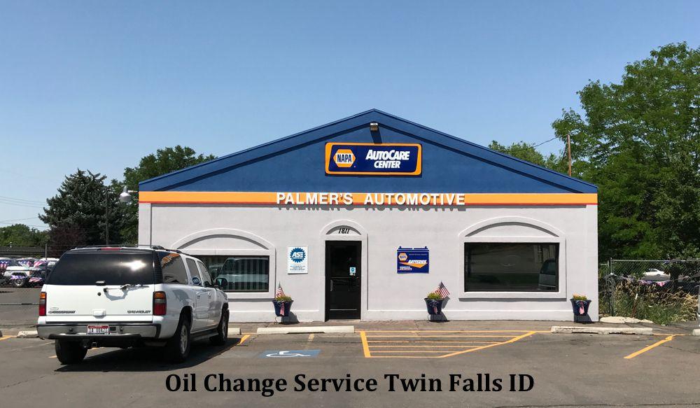 Oil Change Twin Falls Idaho