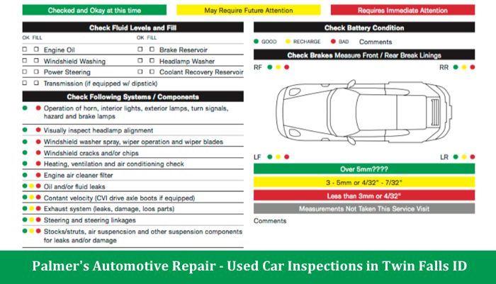 Palmers Automotive Inspection