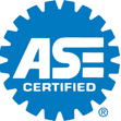 Palmers ASE Certified Logo