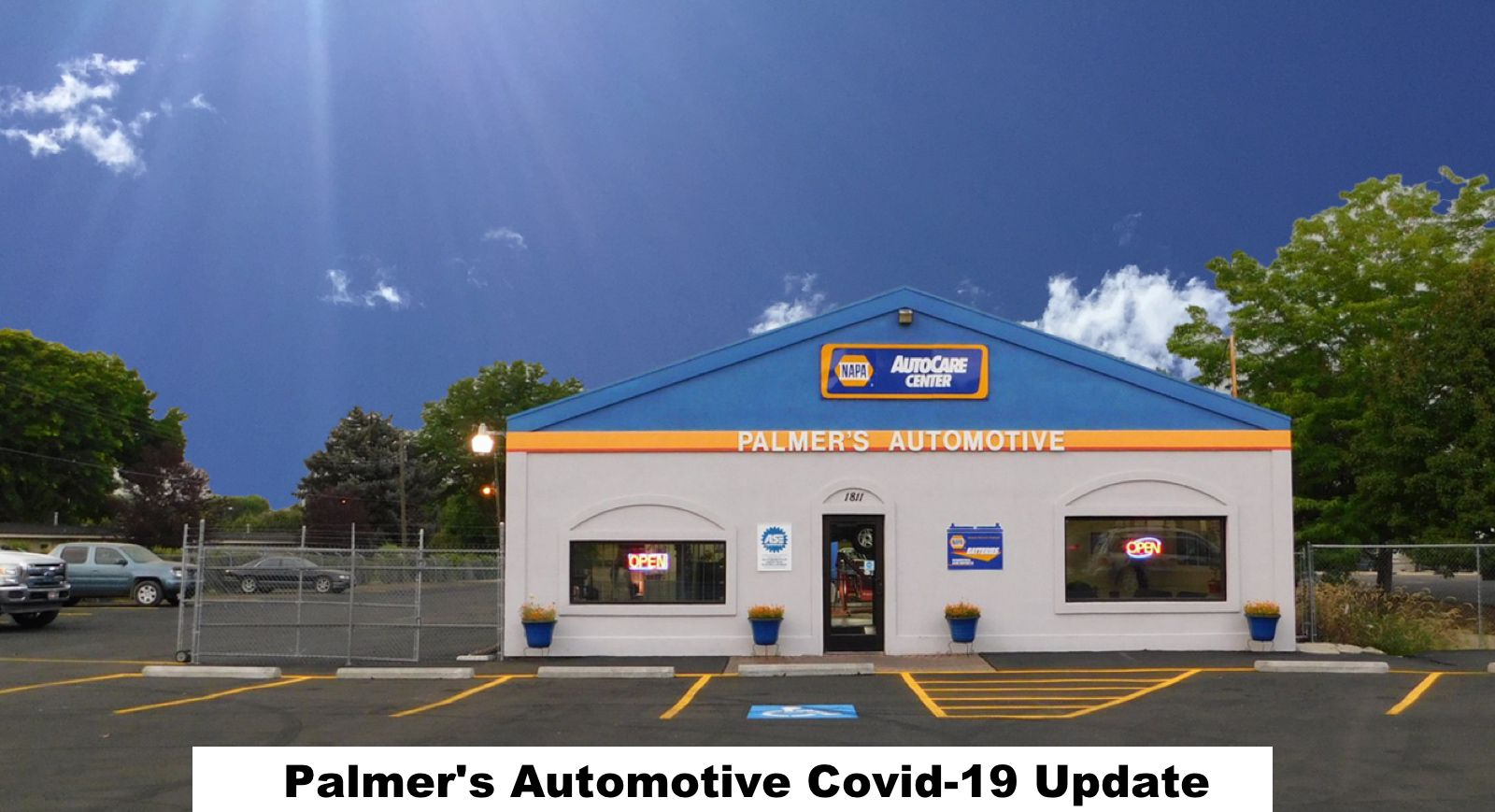 Palmer's Automotive COVID-19 update